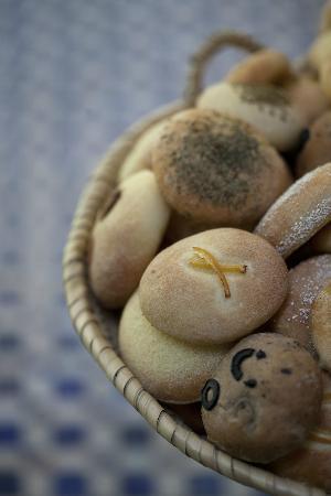 Eden à Palais Amani : Home made moroccan bread