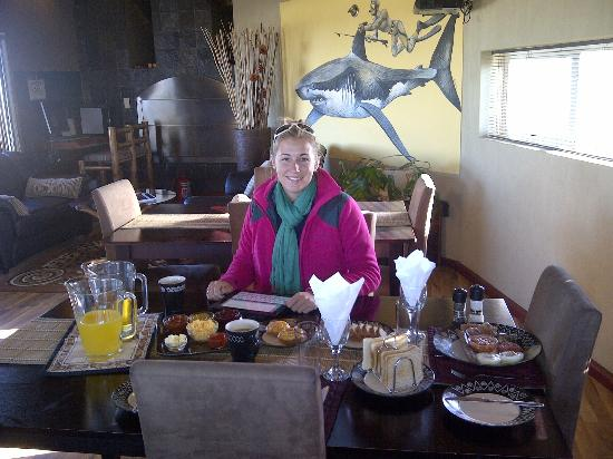 The Roundhouse Guesthouse: Superb Breakfast