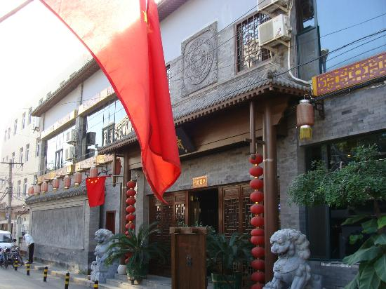 Tangfu Chinese Culture Hotel Beijing Wangfujing: Outside