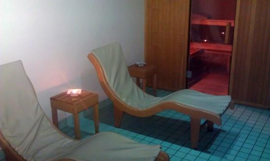 Perugia Plaza Hotel: sala SPA