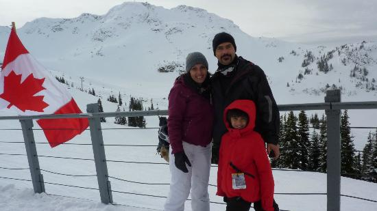 Whistler Blackcomb: no alto da black comb