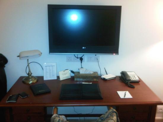 The American Colony Hotel: Desk View