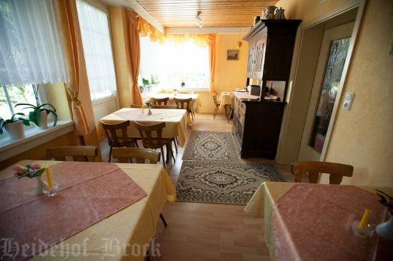 Gasthaus & Pension Heidehof: Frühstücksraum