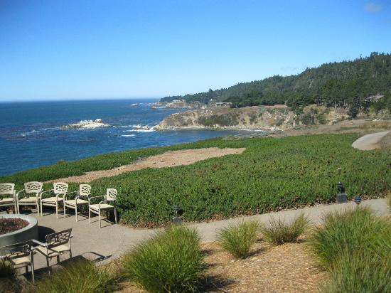 Alexander's at Timber Cove Inn: Part of the inn's spectacular grounds.