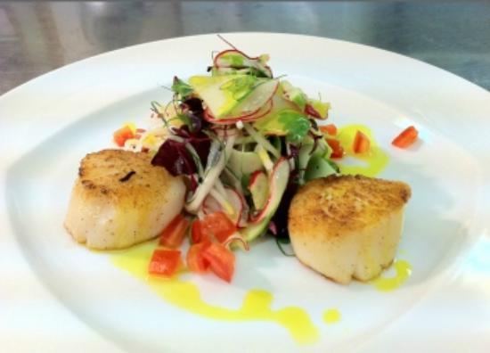 Two to Four: Scallops