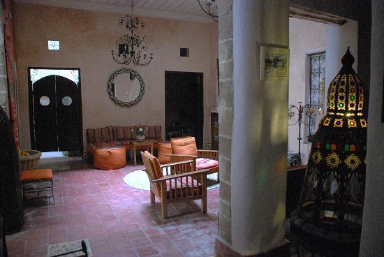 Villa Garance: Sitting area