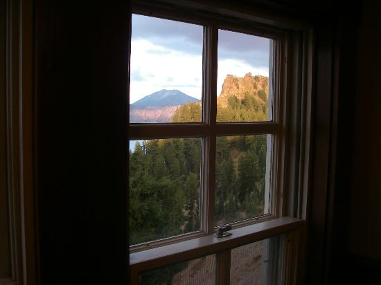Crater Lake Lodge: View from room 402