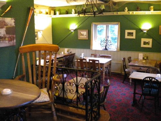 The White Lion Inn: interiors at the inn
