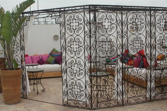 Eden à Palais Amani : dining terrasse