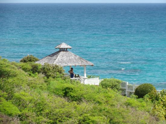 Pineapple Beach Club Antigua: wedding gazebo