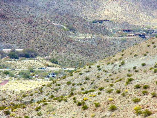 Santa Rosa & San Jacinto Mountains National Monument Visitor Center: view along the trail