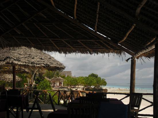 Baobab Beach Resort: Breakfast and dinner area