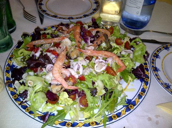 Restobar Montevideo: Ensalada marisco