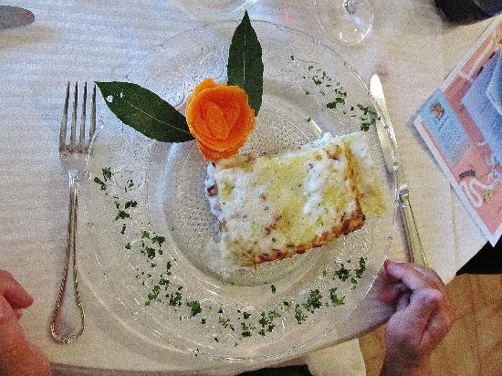Hotel Monterosso Alto : Lasagna