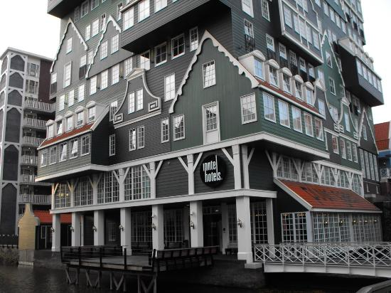 Hotel From Outside Picture Of Inntel Hotels Amsterdam
