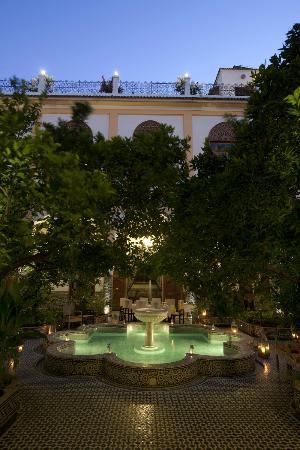 Eden à Palais Amani : Welcome to Palais Amani ;one of Fez's best kept secret