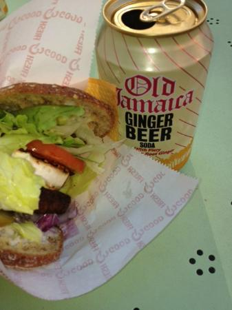 Vegemesta : Veggie burger