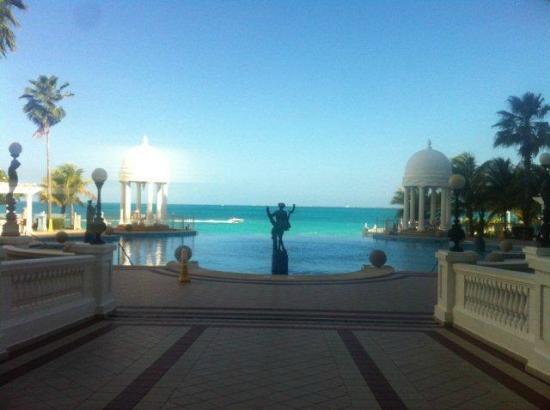 Hotel Riu Palace Las Americas: A visão a partir do hall de entrada