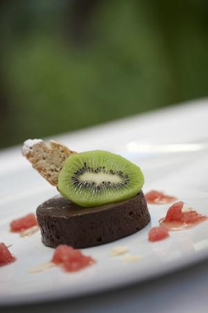 Eden à Palais Amani : Chocolate fudge served with Fekkas