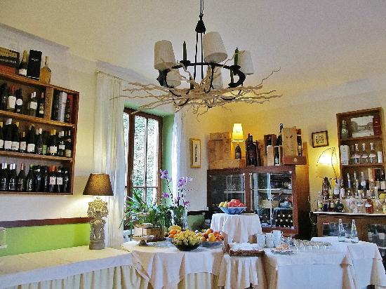 Hotel Monterosso Alto: Dining room