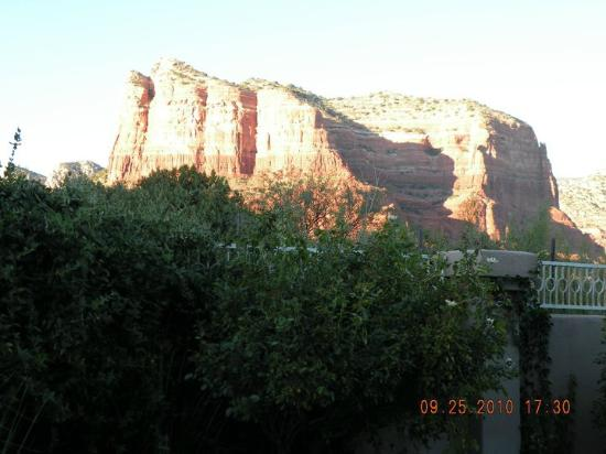 Canyon Villa Bed and Breakfast Inn of Sedona: Great view from the room