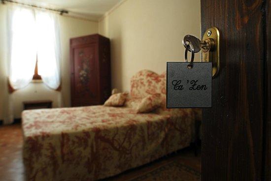 Tenuta Ca'Zen: la camera Rossa