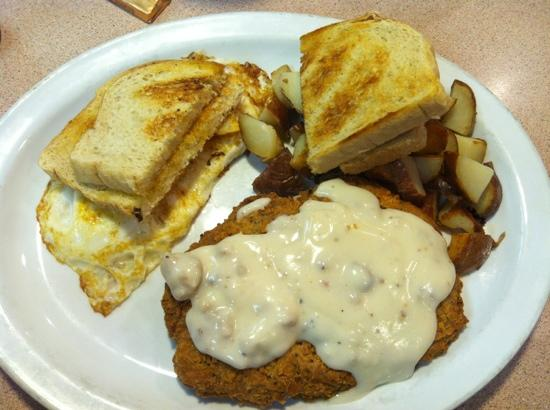 Penny's Diner: chicken fried steak...so yum!!