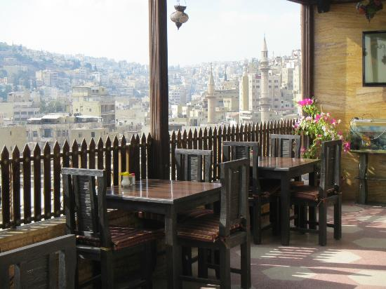Arab Tower Hotel: View from the rooftop terrace