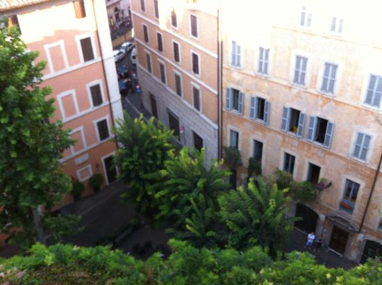 Hotel Raphael - Relais Châteaux: View from roof top garden