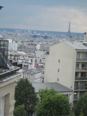 Nadaud Hôtel : zicht uit het raam
