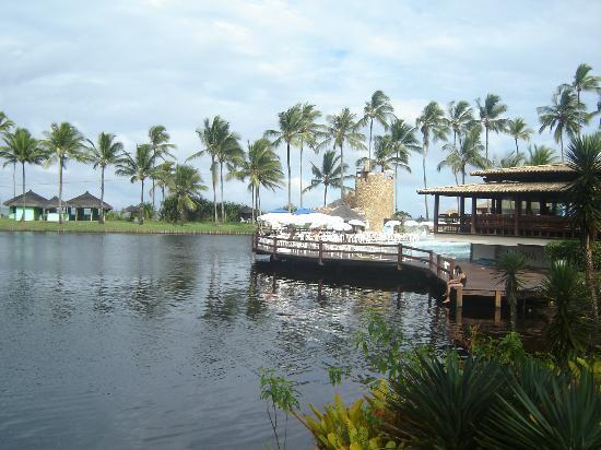 Cana Brava All Inclusive Resort: Lago com um deck (passeio kaiak)