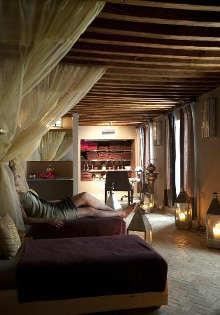Les Bains Amani : relaxation room