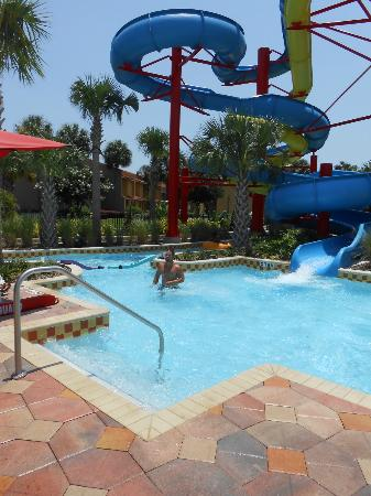 Fantasy World Club Villas: Pool water slide