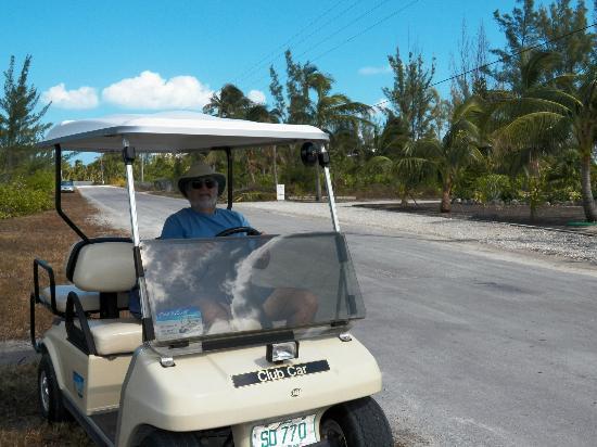 Treasure Cay Beach, Marina & Golf Resort: Golf Cart Tour