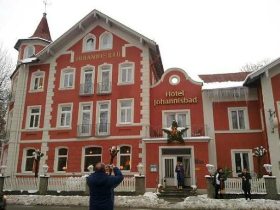 Hotel Johannisbad: l'esterno
