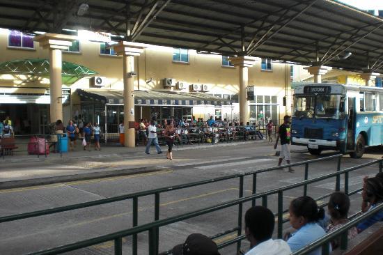 Coral Strand Smart Choice Hotel Seychelles: Busbahnhof