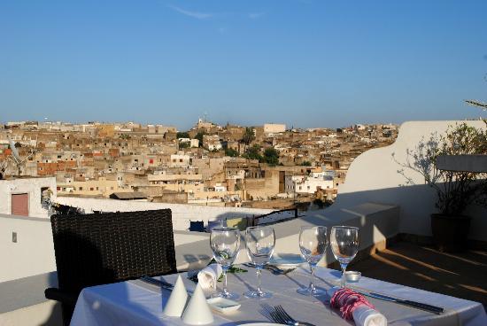 Eden à Palais Amani : Panoramic view of the old medina
