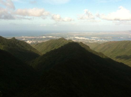 Tripler Ridge: Another Honolulu shot