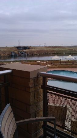 Grand Falls Casino and Golf Resort: A grear view.