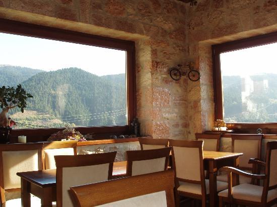 Petrino Rodo: Θέα απο την αίθουσα πρωινού