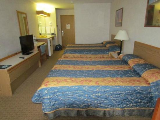 Moab Valley Inn: notre chambre