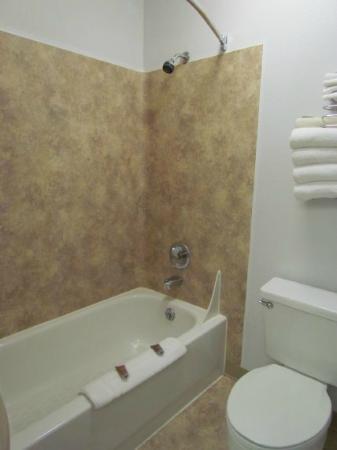 Moab Valley Inn: la salle de bain