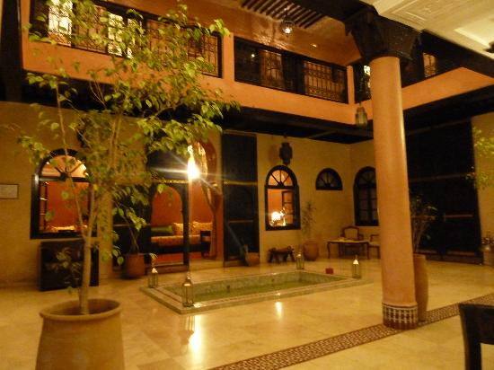 Riad Yacout: Beautiful courtyard