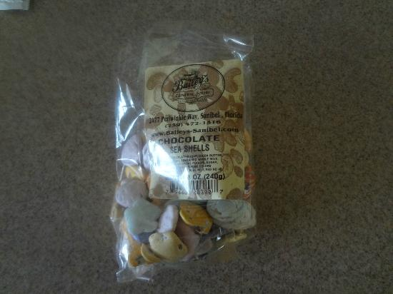 Bailey's General Store: bailey's chocolate sea shells