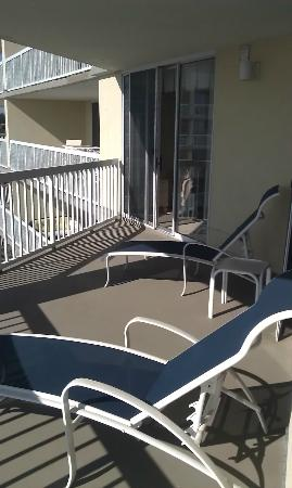 Litchfield Beach & Golf Resort: private balcony