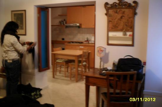 ريزيدنزا كا سان ماركو: View from bedroom to kitchen