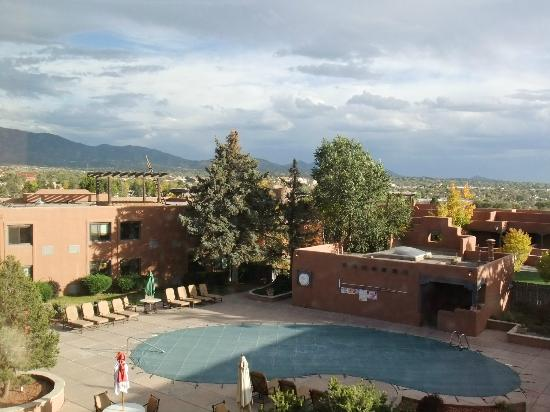 The Lodge at Santa Fe: Great views and lights of the city at night