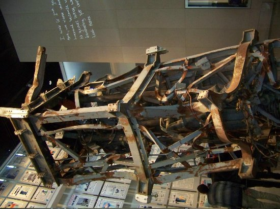 Museum Berita Newseum: Communications Antenna from World Trade Center