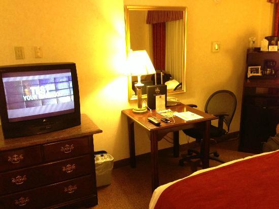 BEST WESTERN PLUS Grosvenor Airport Hotel: TV/desk area