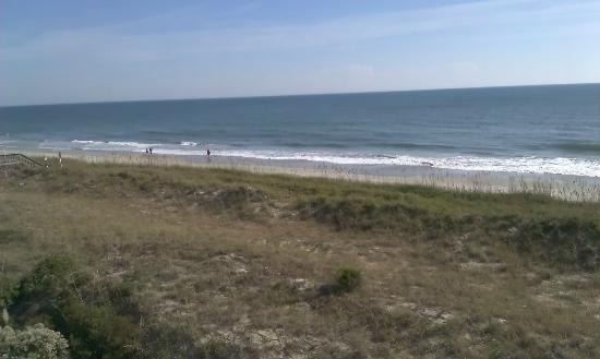 Litchfield Beach & Golf Resort: view from balcony